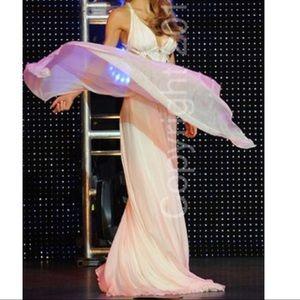 Sherri Hill Dresses - White Beaded Formal Gown